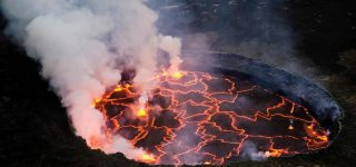 Difficulty of hiking Mount Nyiragongo Volcano