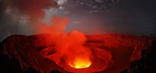 Nyiragongo Altitude & Temperature
