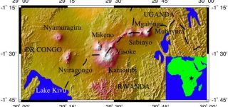 Mount Nyiragongo Latitude and Longitude