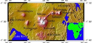 Mount Nyiragongo Latitude and Longitude