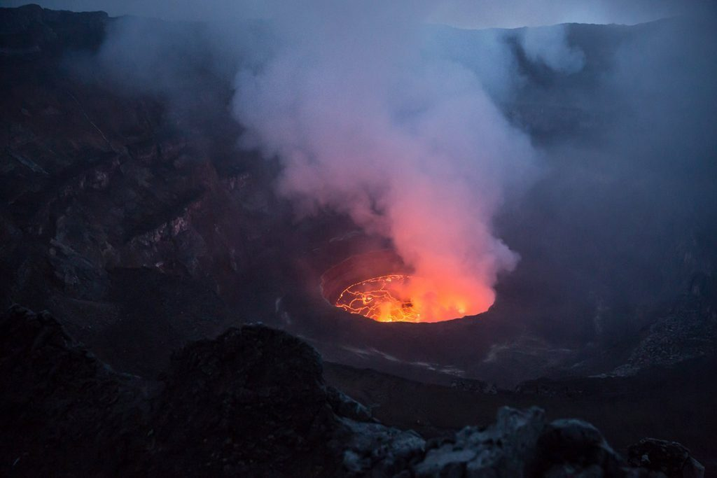 2 Days Mount Nyiragongo Hiking from Kigali